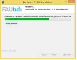Faubox_Installieren auf Windows 3