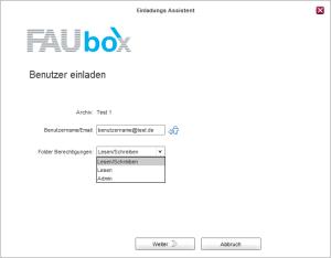 FAUbox_Verwalten der Mitglieder eines Ordners 1