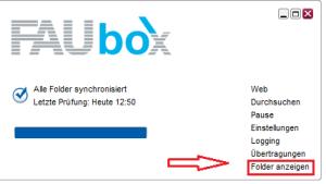 FAUbox_Erstellen und Teilen von Ordnern 4