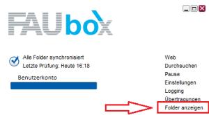 FAUbox_Synchronisieren eines geteilten Ordners 1