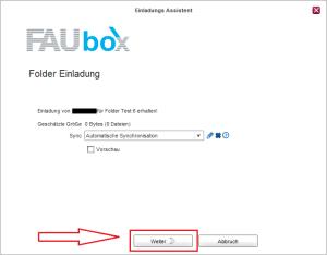 FAUbox_Synchronisieren eines geteilten Ordners 2